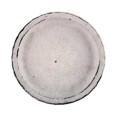 Svend Hammershøi for Kähler 'Denmark', Glazed Stoneware Low Bowl