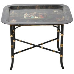 Chinoiserie Painted Serving Tray