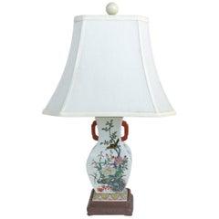 Chinese Porcelain Vase Mounted as Lamp