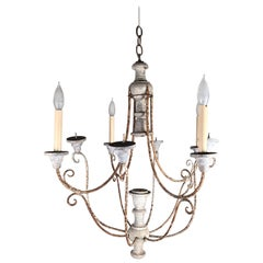 French Country 8-Arm Chandelier