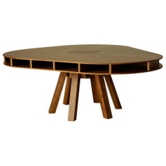 Clark Dining Table with Walnut Top and Walnut Legs