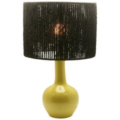 French Art Deco Table Lamp Stamp by Porcelaine Paris