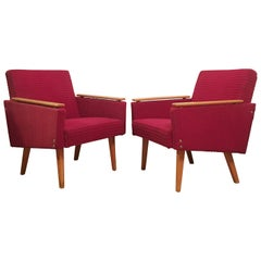 Vintage Armchairs, 1960s, Set of Two