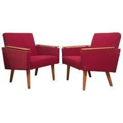 Vintage Sessel, 1960er Jahre, Set mit 2