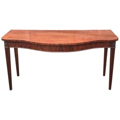 George III Period 18th Century Mahogany Serving Table
