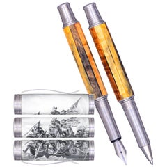 Washington Crossing the Delaware Limited Edition of 76 Pens, American Made Pen