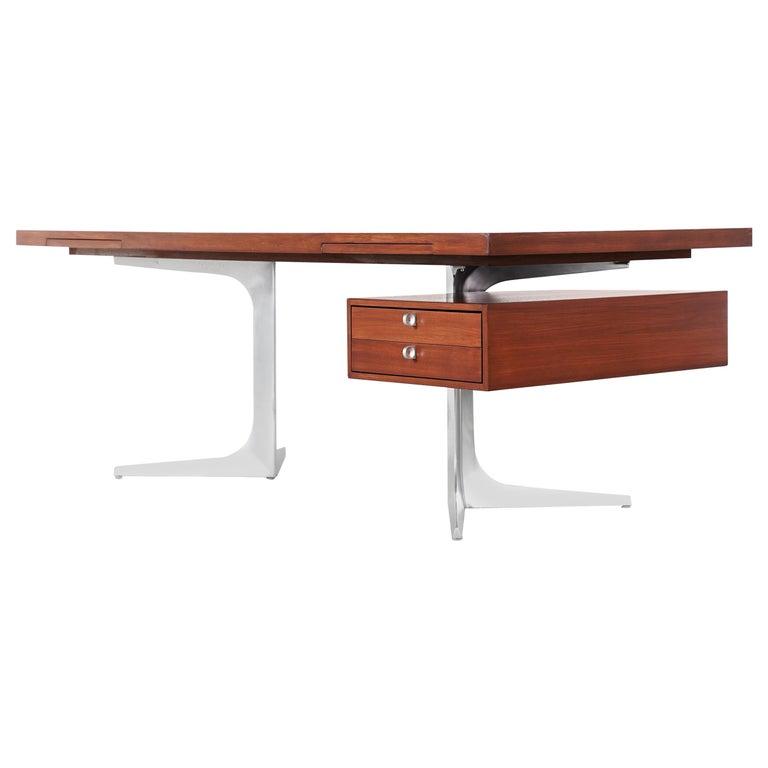 Herbert Hirche Executive Writing Desk Top Series by Christian Holzäpfel, 1967 1
