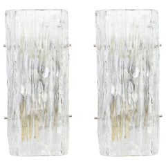 Pair of Kalmar Sconces Wall Lights, Austria, 1960s