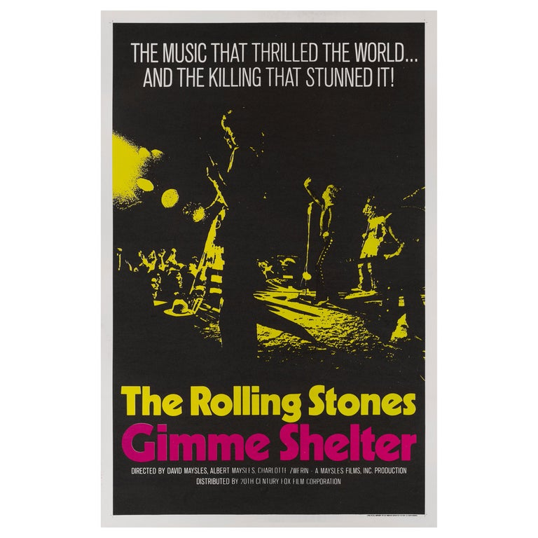 Gimme Shelter For Sale