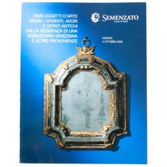 Auction Catalogue of Italian Fine Art, Silver, Ivory, and Venetian Objects, 2006