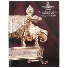 Christie's, The Sam Wagstaff Collection of American Silver, January 1989