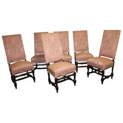 Set of French 19th Century Dining Room Chairs