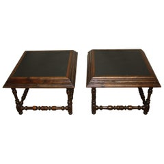 French Early 20th Century Pair of Sofa Tables