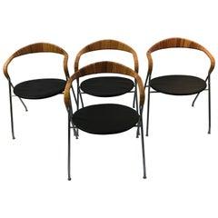 Hans Eichenberger Swiss Design Dining Chairs