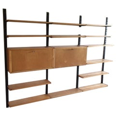 Birch Series by Cees Braakman for Pastoe Style Wall or Shelving System Dutch