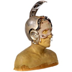 Original Bicentennial Man Animatronic Head Appliance Worn by Robin Williams