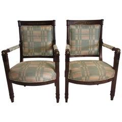 Pair of Louis XVI 19th Century Chairs