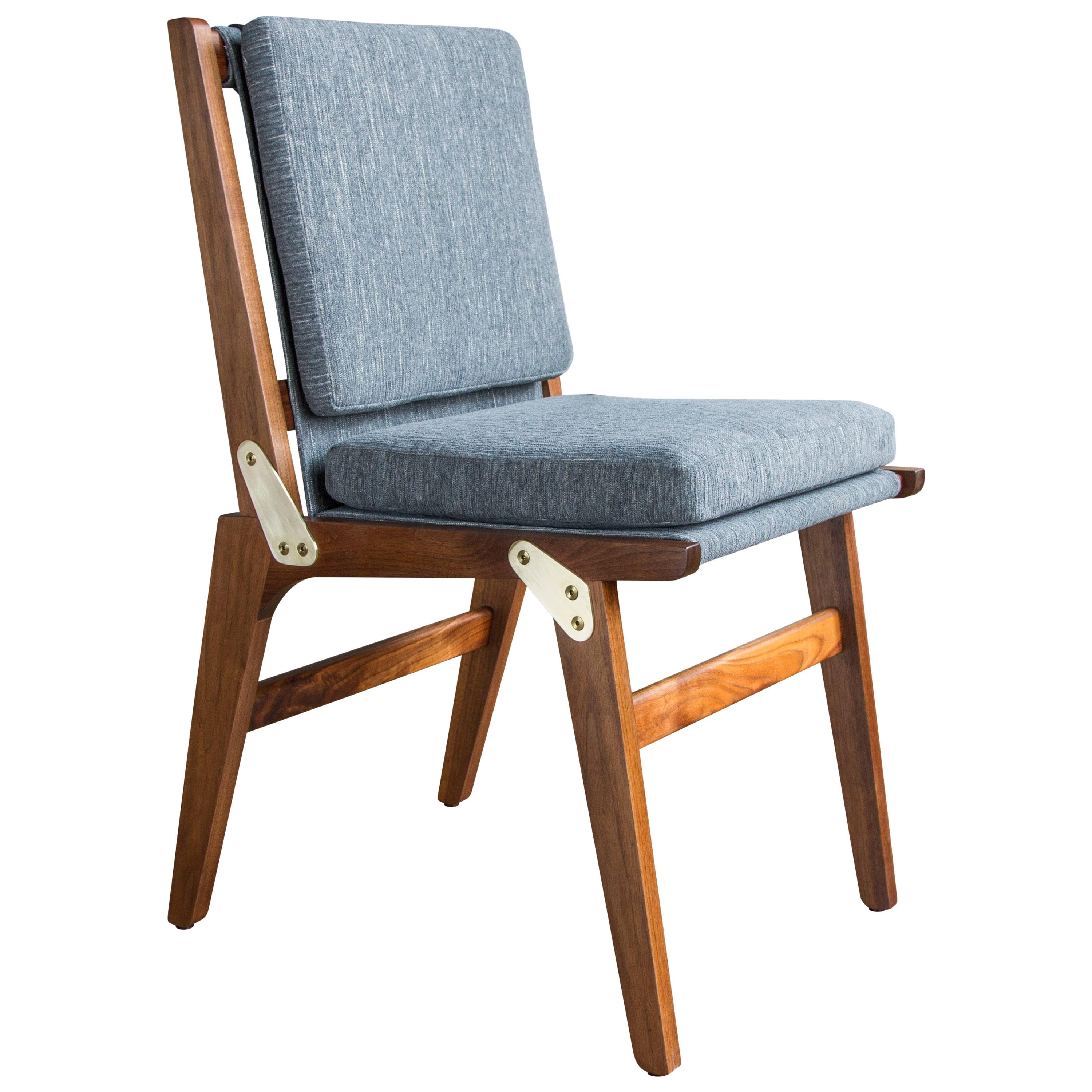 O.F.S. Dining Chair in Oiled Walnut - handcrafted by Richard Wrightman Design