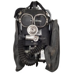 Miner's Oxygen Mask/Original Case, circa 1960