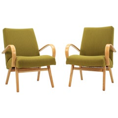 Set of Two Lounge Chairs by Thon/Thonet, 1960s