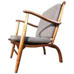 Danish Mid-Century Modern Lounge Chair