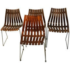 Hans Brattrud Dining Chairs