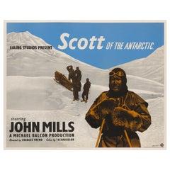"""""""Scott of the Antarctic"""" Film Poster"""