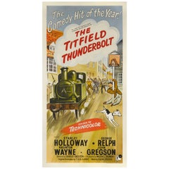 """The Titfield Thunderbolt"" Movie Poster"