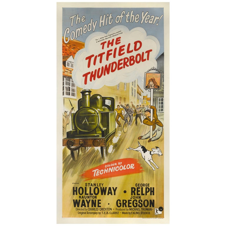 """The Titfield Thunderbolt"" Movie Poster For Sale"