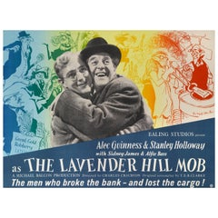 """The Lavender Hill Mob"" Film Poster"