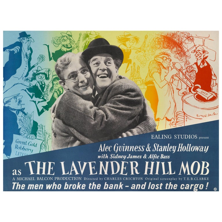 """""""The Lavender Hill Mob"""" Film Poster For Sale"""