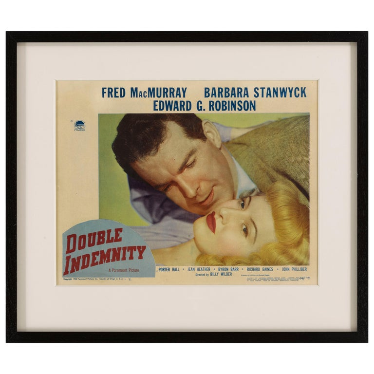 Double Indemnity For Sale