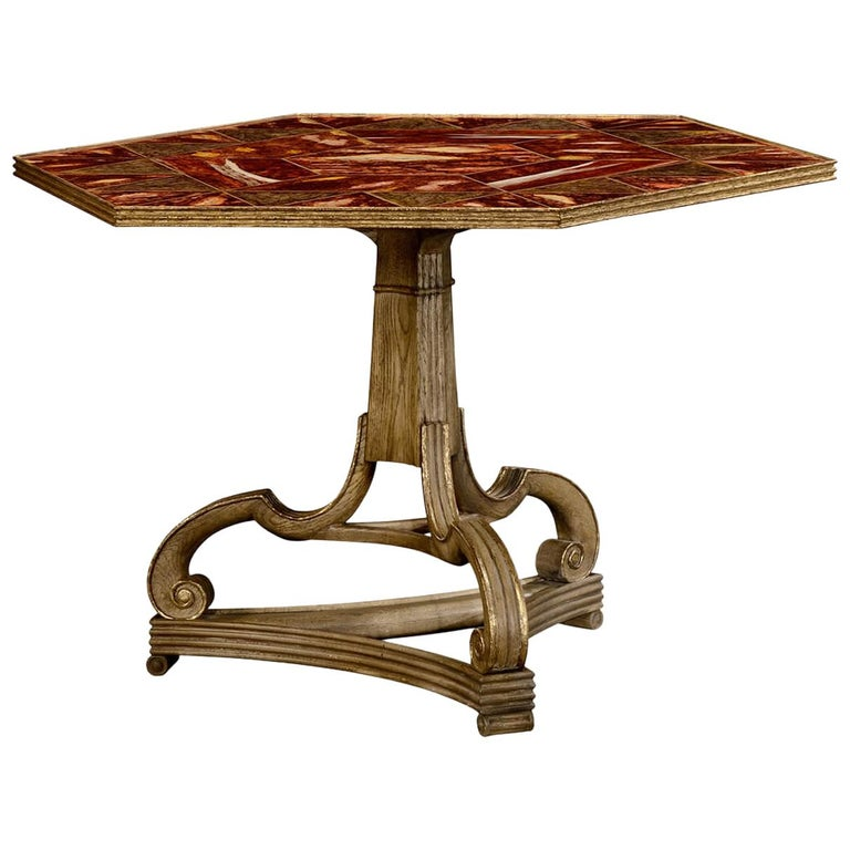 George II Style Center Table For Sale