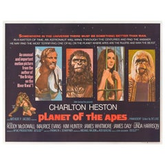 """Planet of the Apes"" Original British Film Poster"