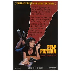 """Pulp Fiction"" Original US Advance Style Film Poster"