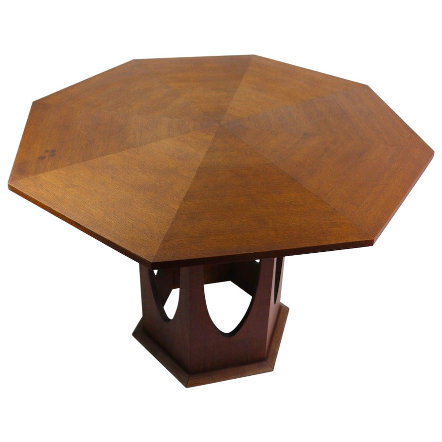 Mid Century  Dining Table In the Style of Harvey Probber