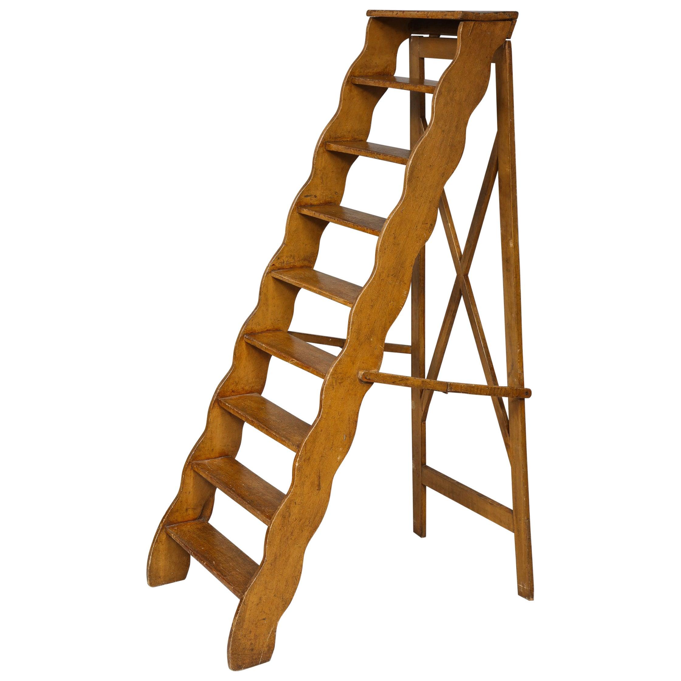 Scalloped Folding Ladder