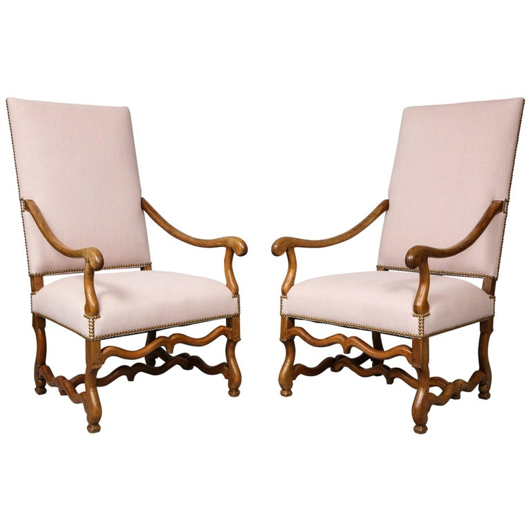 Pair of Baroque Armchairs For Sale