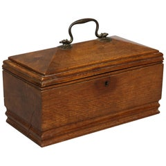 Rare Dugout Tea Caddy