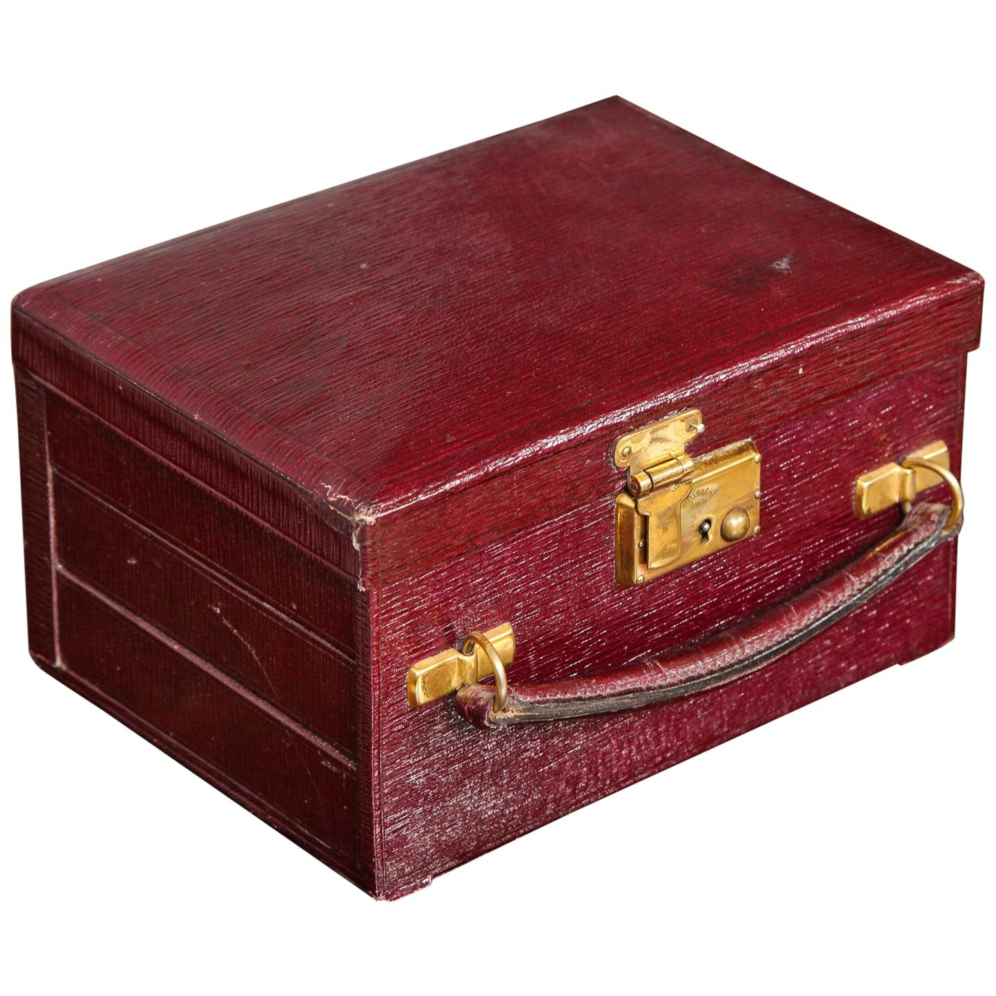 240acacee6fa Italian Leather Jewelry Box For Sale at 1stdibs