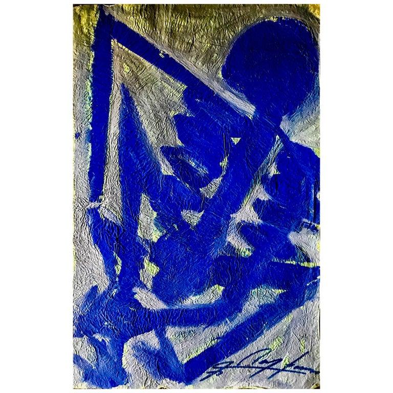 """Jesús """"Chucho"""" Reyes Ferreira, <i>Blue Skeleton</i>, 20th century"""