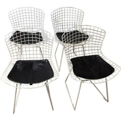 Mid-Century Modern Knoll Dining Chairs, Set of 4