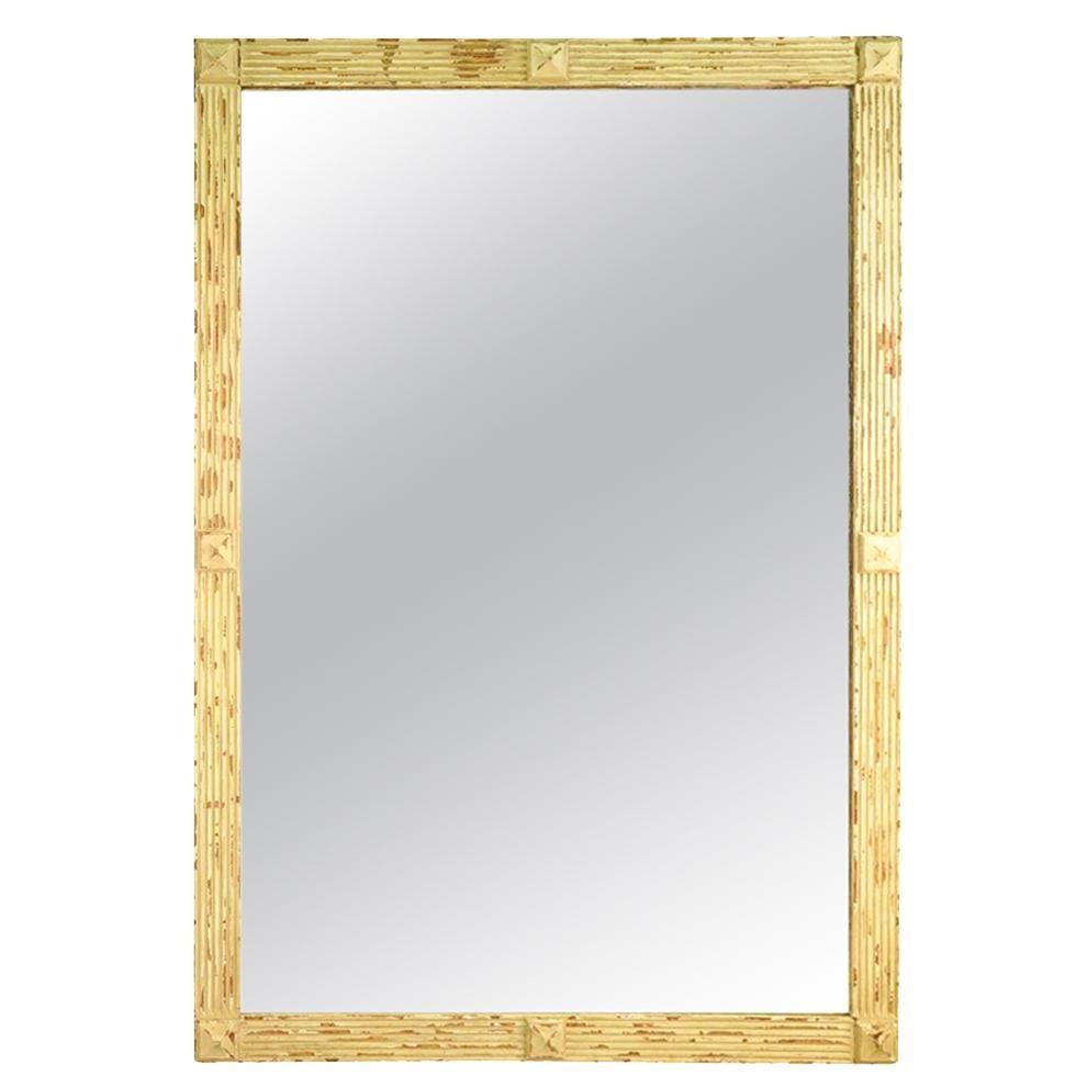 French 19th Century Bistro Mirror