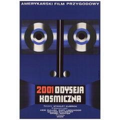 """2001: A Space Odyssey / 2001 Odyseja Kosmiczna"" Original Polish Movie Poster"