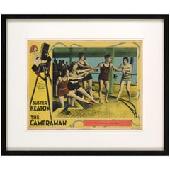 """The Cameraman"" Original Us Lobby Card"