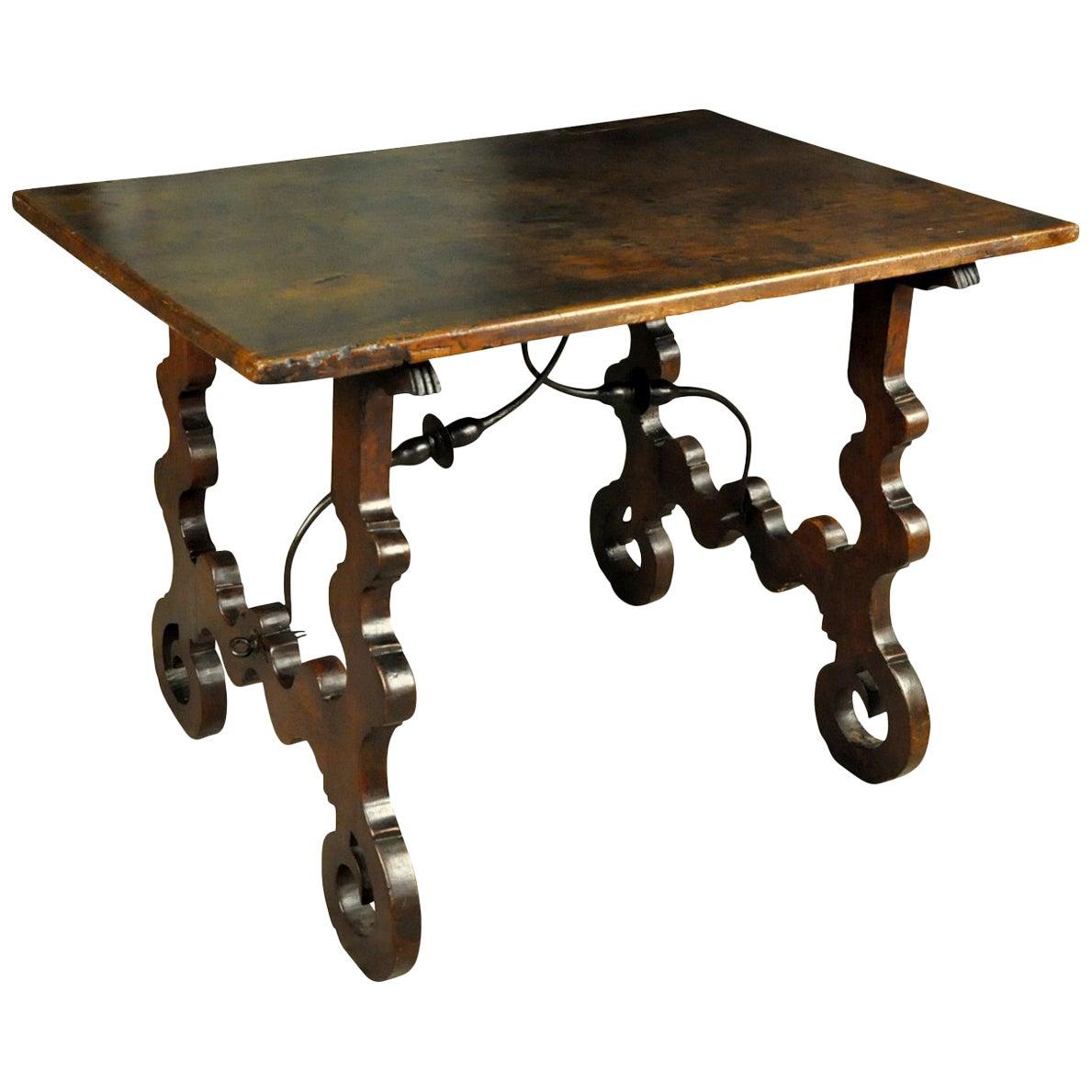 Spanish 18th Century Primitive Side Table
