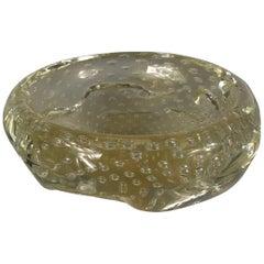 Controlled Bubble Murano Bowl