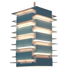 Scandinavian Geometric Ceiling Pendant by Nordisk Solar, 1960s