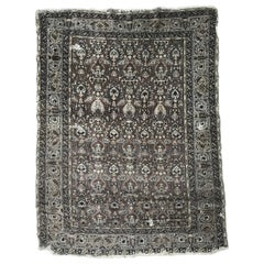 Antique Distressed Turkish Armenian Rug