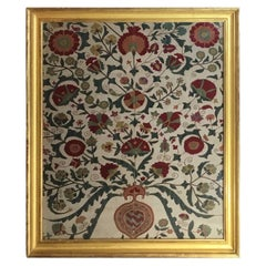 Hand Embroidery Silk Suzani Textile